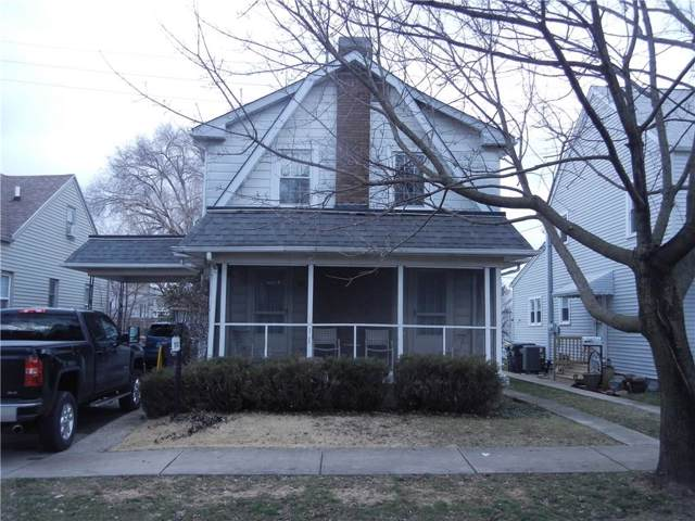 712 E 29th Street, Anderson, IN 46016 (MLS #21693013) :: The Evelo Team