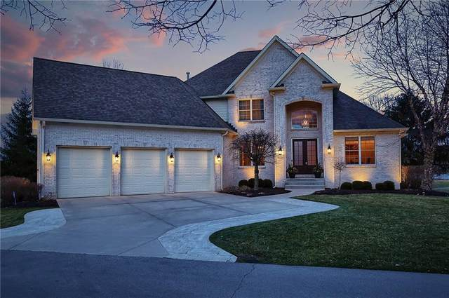 11071 Mirador Lane, Fishers, IN 46037 (MLS #21693184) :: Mike Price Realty Team - RE/MAX Centerstone