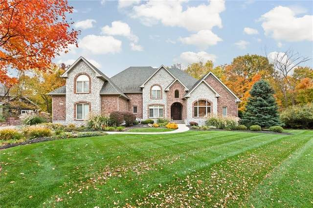 6145 Stonegate Run, Zionsville, IN 46077 (MLS #21693198) :: AR/haus Group Realty