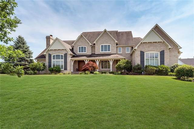 9277 Pleasant View Lane, Zionsville, IN 46077 (MLS #21693413) :: The Indy Property Source
