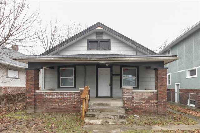917 N Parker Avenue, Indianapolis, IN 46201 (MLS #21693508) :: AR/haus Group Realty