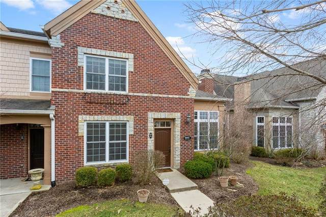 6691 Beekman Place Townhome A, Zionsville, IN 46077 (MLS #21693642) :: AR/haus Group Realty