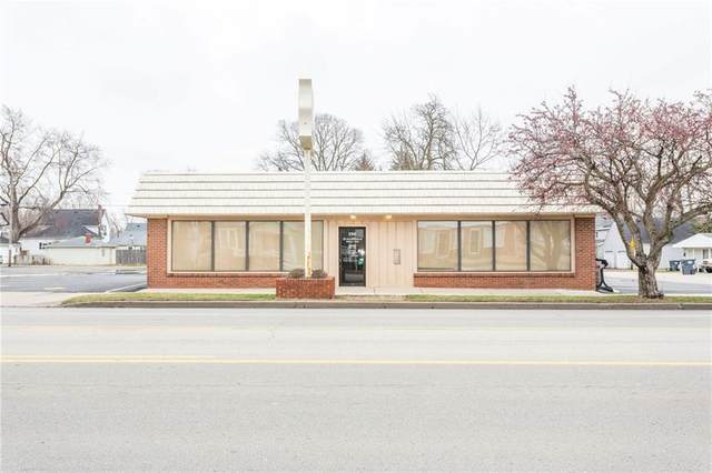2100-02 Broadway, Anderson, IN 46011 (MLS #21693972) :: The Indy Property Source