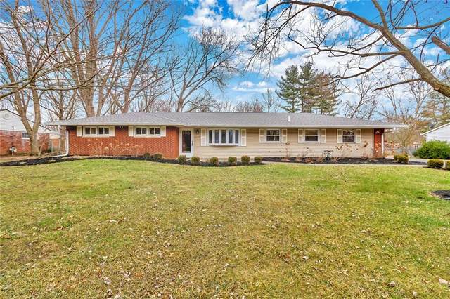 10375 Orchard Park Drive W, Indianapolis, IN 46280 (MLS #21693993) :: Richwine Elite Group