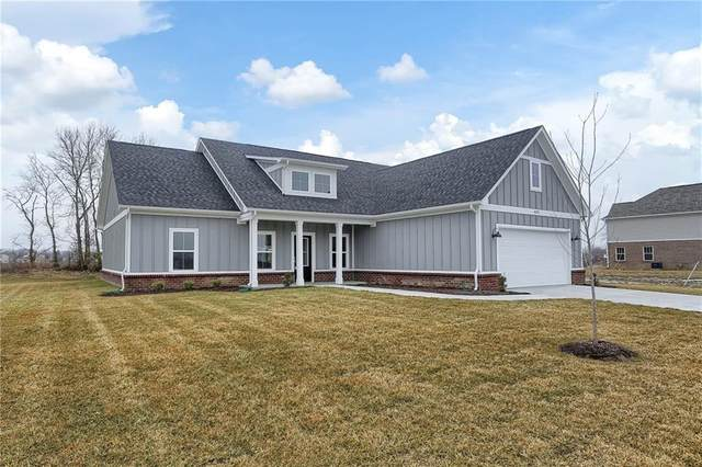 4575 W Meadows Lane, New Palestine, IN 46163 (MLS #21694051) :: The Indy Property Source