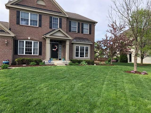 8816 Weather Stone, Zionsville, IN 46077 (MLS #21694098) :: AR/haus Group Realty