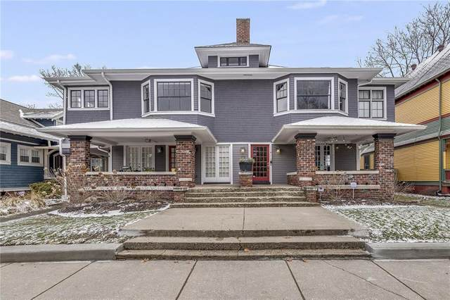 2123 N Delaware Street D, Indianapolis, IN 46202 (MLS #21694125) :: AR/haus Group Realty