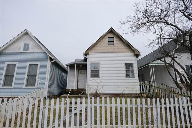 1439 S New Jersey Street, Indianapolis, IN 46225 (MLS #21694165) :: Mike Price Realty Team - RE/MAX Centerstone
