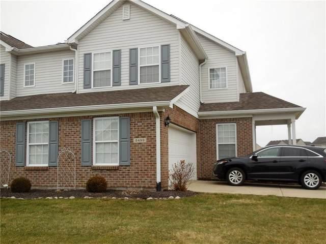 2499 Blue Ridge Drive, Greenwood, IN 46143 (MLS #21694194) :: The ORR Home Selling Team