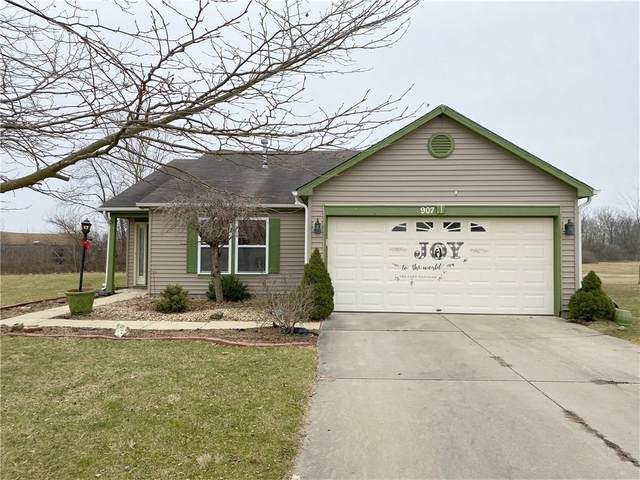 907 Springside Court, Greenfield, IN 46140 (MLS #21694289) :: AR/haus Group Realty