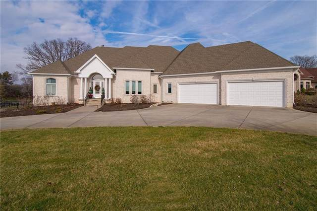 1761 Eagle Trace Drive, Greenwood, IN 46143 (MLS #21694344) :: The ORR Home Selling Team