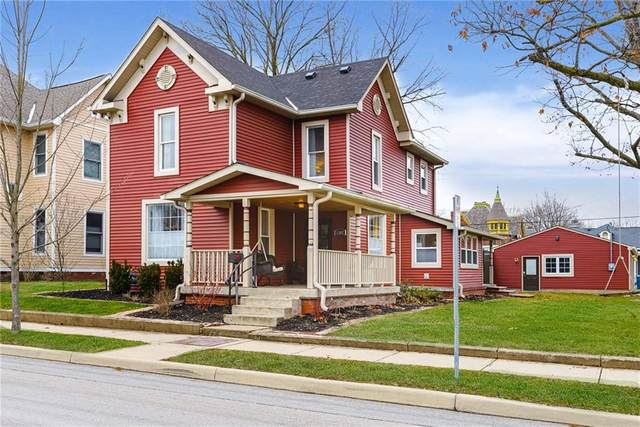 1282 Maple Avenue, Noblesville, IN 46060 (MLS #21694495) :: Mike Price Realty Team - RE/MAX Centerstone
