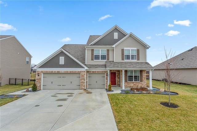 6691 Karleigh Drive, Brownsburg, IN 46112 (MLS #21694565) :: Mike Price Realty Team - RE/MAX Centerstone