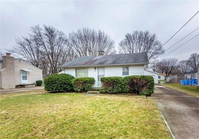 311 E 54th Street, Anderson, IN 46013 (MLS #21694582) :: The Evelo Team