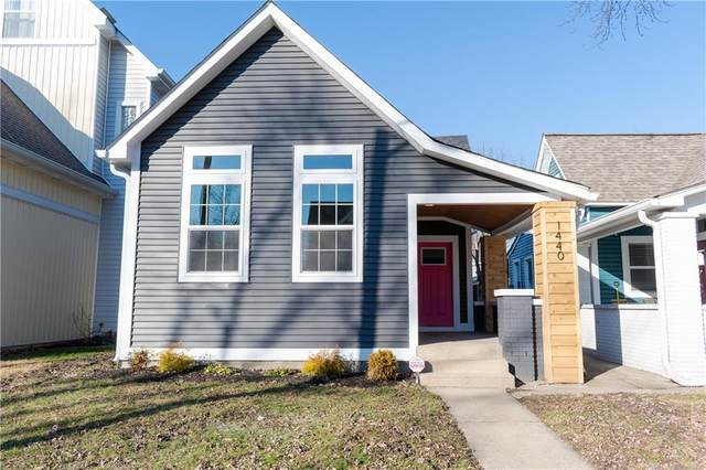 1440 Hoyt Avenue, Indianapolis, IN 46203 (MLS #21694664) :: The Evelo Team