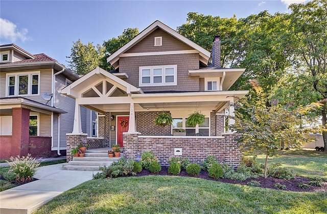 3041 N Park Avenue, Indianapolis, IN 46205 (MLS #21694827) :: AR/haus Group Realty