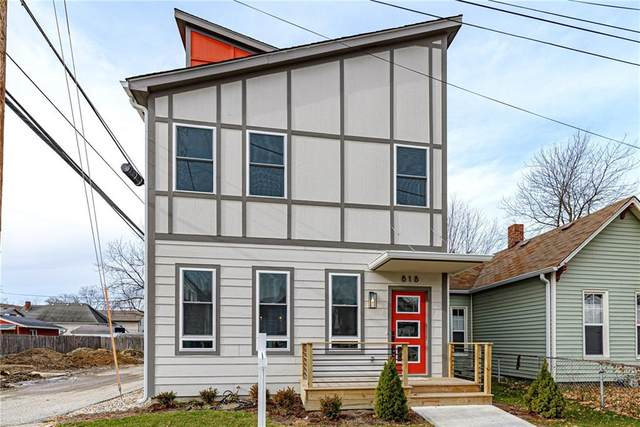 818 Olive Street, Indianapolis, IN 46203 (MLS #21694889) :: AR/haus Group Realty
