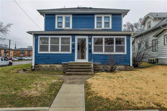 1202 E 8th Street, Anderson, IN 46012 (MLS #21695004) :: The Indy Property Source
