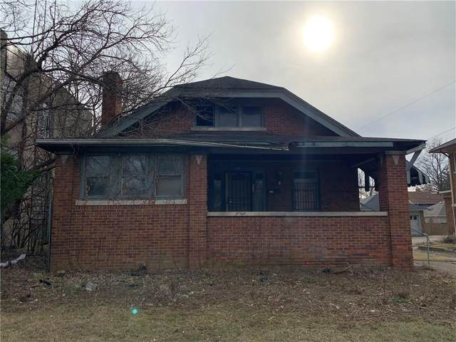 921 E 38th Street, Indianapolis, IN 46205 (MLS #21695170) :: The Indy Property Source