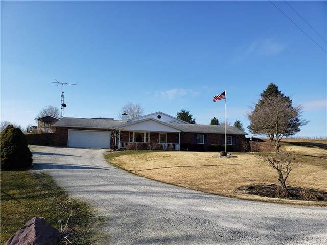 8979 E County Road 50 N, Greensburg, IN 47240 (MLS #21695178) :: The Indy Property Source