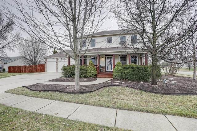 13955 Brightwater Drive, Fishers, IN 46038 (MLS #21695195) :: Mike Price Realty Team - RE/MAX Centerstone