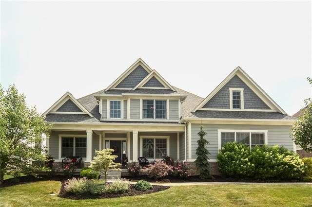 10221 Timberstone Drive, Fishers, IN 46040 (MLS #21695251) :: Richwine Elite Group