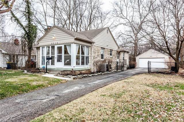 5515 Rosslyn Avenue, Indianapolis, IN 46220 (MLS #21695263) :: AR/haus Group Realty