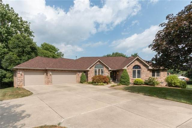 4296 W 400 Road S, New Palestine, IN 46163 (MLS #21695278) :: The Indy Property Source