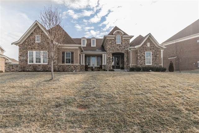 14329 Overbrook Drive, Carmel, IN 46074 (MLS #21695368) :: The Evelo Team