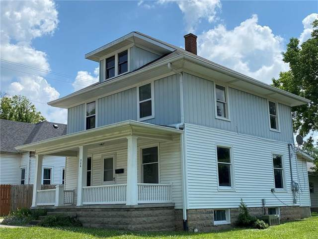 306 W Columbia Street, Greencastle, IN 46135 (MLS #21695379) :: The Indy Property Source