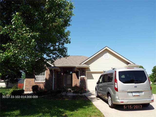 912 Cortland Court, Greenfield, IN 46140 (MLS #21695509) :: The Indy Property Source