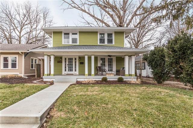 4428 Carrollton Avenue, Indianapolis, IN 46205 (MLS #21695689) :: Mike Price Realty Team - RE/MAX Centerstone