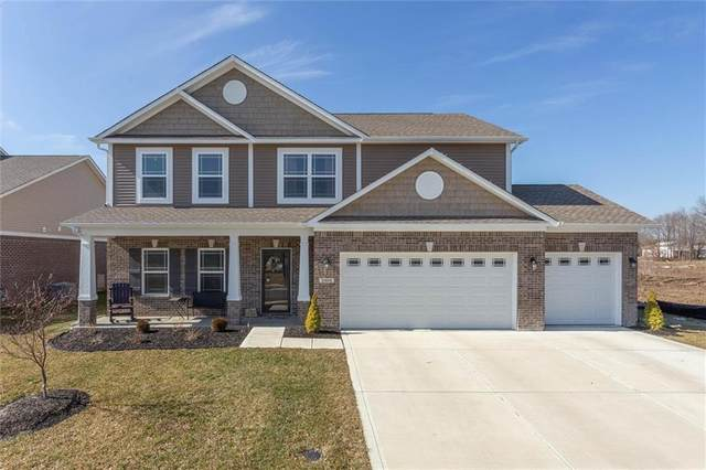 3304 S Hume Lane, New Palestine, IN 46163 (MLS #21695724) :: The Indy Property Source