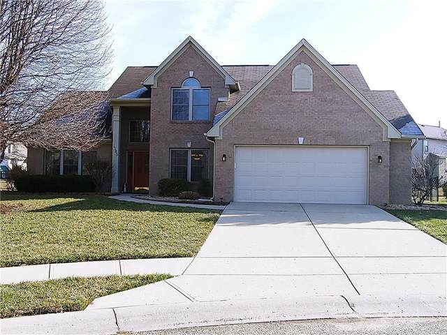 1185 Carlton Court, Greenwood, IN 46143 (MLS #21695821) :: The Indy Property Source