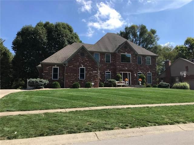 541 Vanhoy Drive, Greenwood, IN 46142 (MLS #21695930) :: Heard Real Estate Team | eXp Realty, LLC