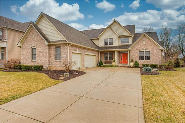 8317 Lunsford Lane, Fishers, IN 46038 (MLS #21695936) :: The Indy Property Source