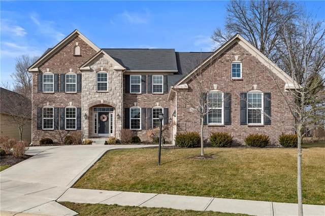 8310 Lunsford Lane, Fishers, IN 46038 (MLS #21695953) :: Richwine Elite Group