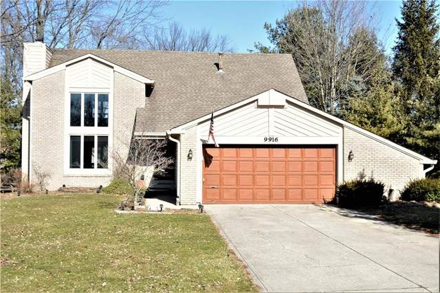9916 Beam Ridge Drive, Indianapolis, IN 46256 (MLS #21696015) :: David Brenton's Team