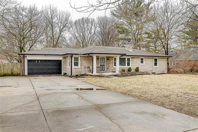 7604 Spring Mill Road, Indianapolis, IN 46260 (MLS #21696036) :: Mike Price Realty Team - RE/MAX Centerstone