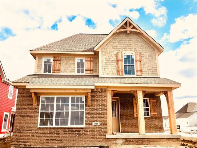 1515 Cloverdon Drive, Westfield, IN 46074 (MLS #21696041) :: Richwine Elite Group