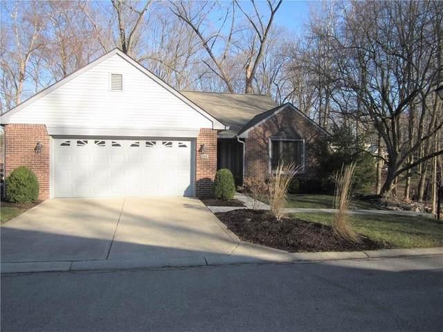 1751 Creekside Lane W, Carmel, IN 46032 (MLS #21696074) :: The Indy Property Source