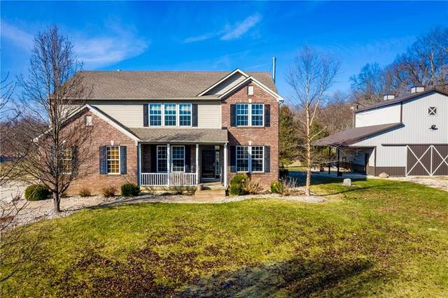 5569 N County Road 300 East, New Castle, IN 47362 (MLS #21696102) :: The ORR Home Selling Team