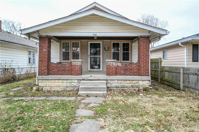 732 N Rochester Avenue, Indianapolis, IN 46222 (MLS #21696132) :: The Indy Property Source
