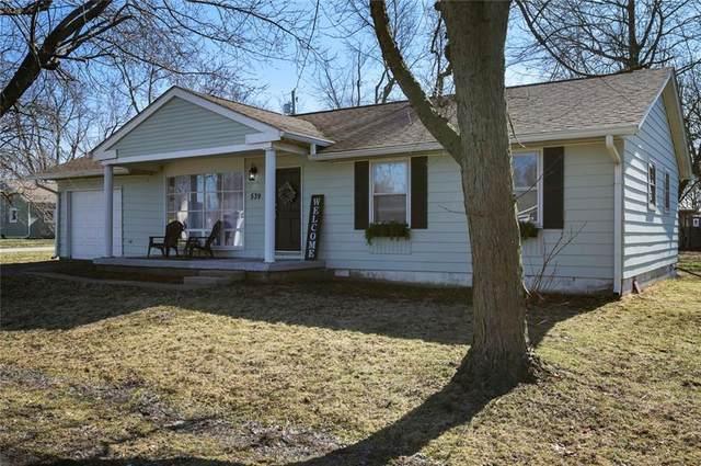 539 W Oak Street, Parker City, IN 47368 (MLS #21696221) :: The ORR Home Selling Team