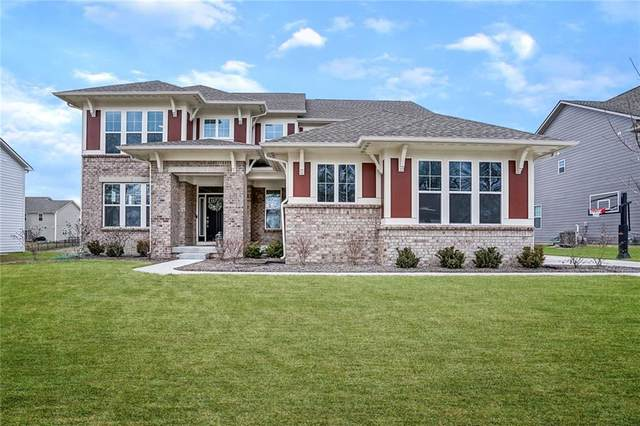 10214 Frieda Lane, Fishers, IN 46040 (MLS #21696313) :: The Indy Property Source