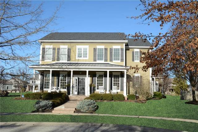 6615 W Deerfield Drive, Zionsville, IN 46077 (MLS #21696354) :: The Indy Property Source