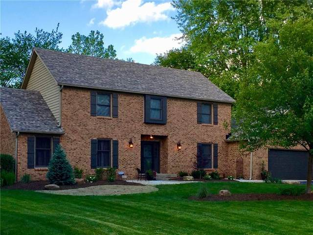 7220 W Christian Drive, New Palestine, IN 46163 (MLS #21696365) :: The Indy Property Source