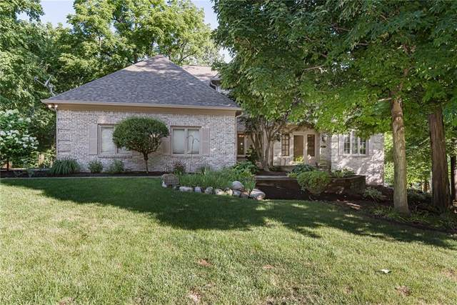4638 Hickory Court, Zionsville, IN 46077 (MLS #21696391) :: The Indy Property Source