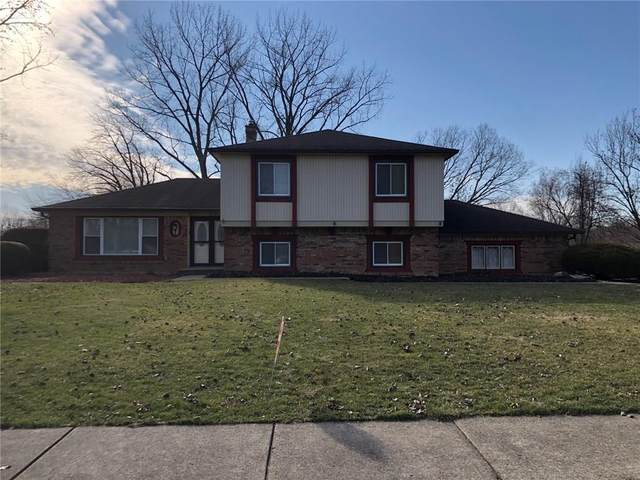 1214 Sherwood Drive, Greenfield, IN 46140 (MLS #21696450) :: Richwine Elite Group