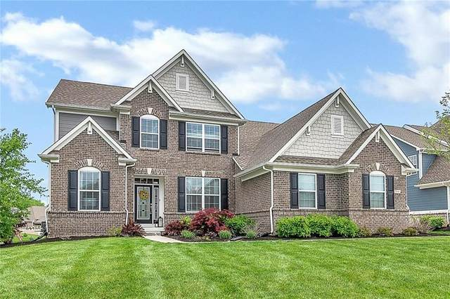 7398 English Court, Zionsville, IN 46077 (MLS #21696583) :: The Indy Property Source